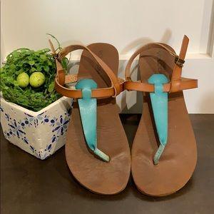 Volcom Leather Sandals